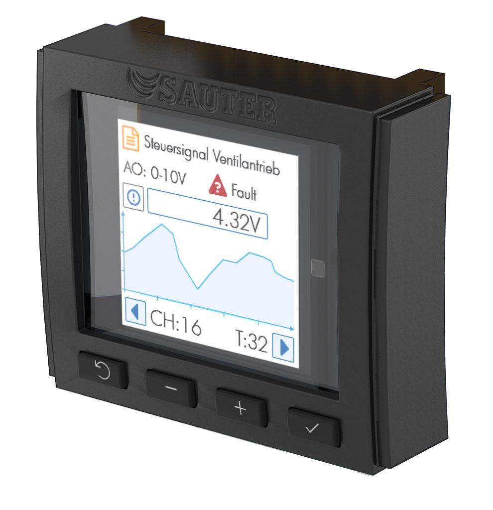 Operating and indicating unit for I/Omodules, modu600-LO