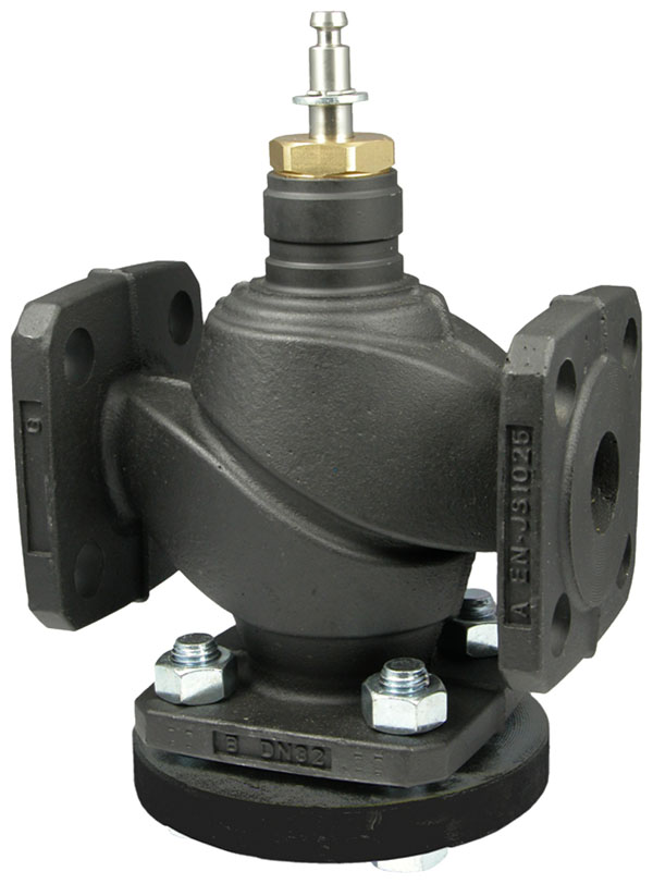3-way flanged valve, PN 25/16 (el.)