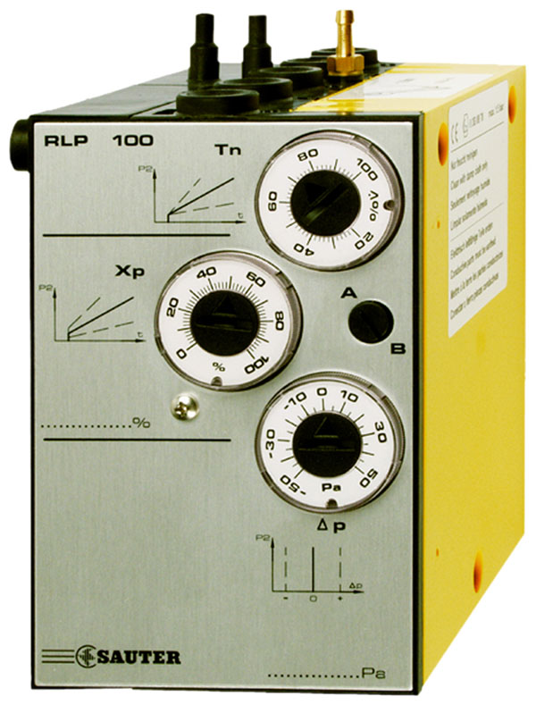 Pneumatic room-pressure controllers