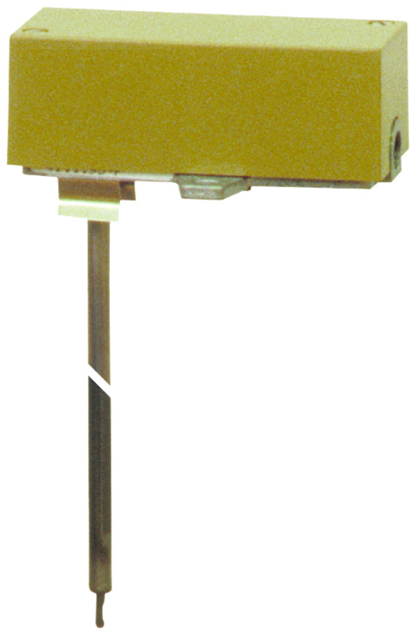 Pneumatic temperature transducer for duct fitting, centair