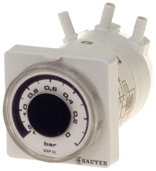 Heavy-duty, pneumatic control-pressure