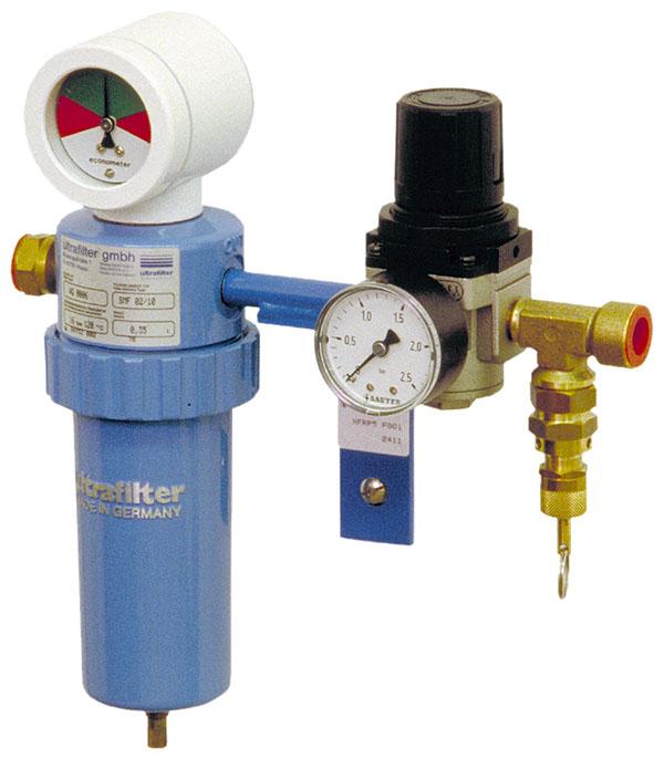 Pressure-reducing station