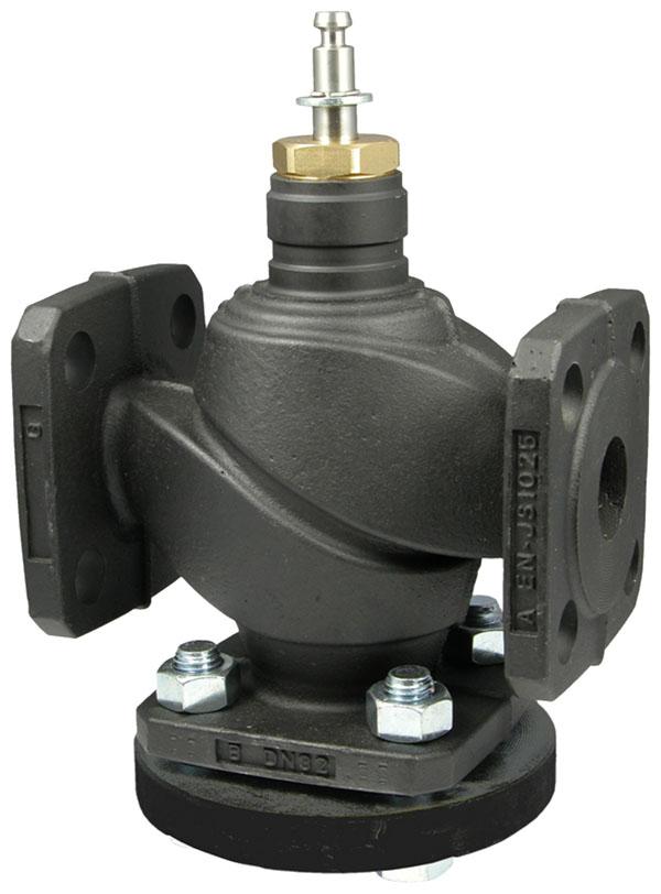 2-way flanged valve, PN 25/16 (el.)