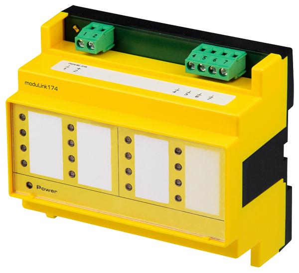 Field module for digital inputs, moduLink174
