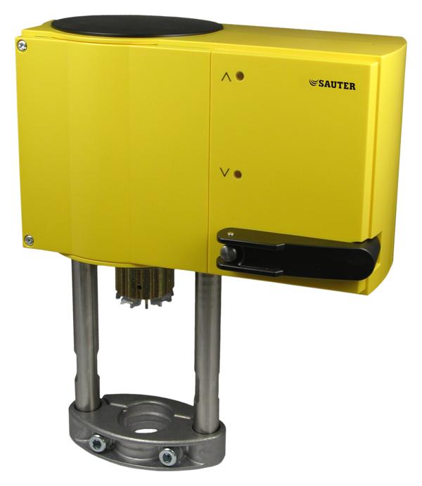 SUT valve actuator with positioner