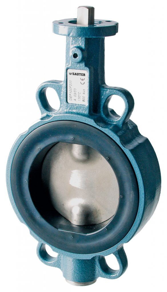 Tight-sealing butterfly valve, PN 16