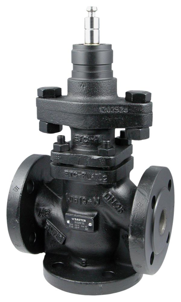 3-way flanged valve, PN 40 (pn.)