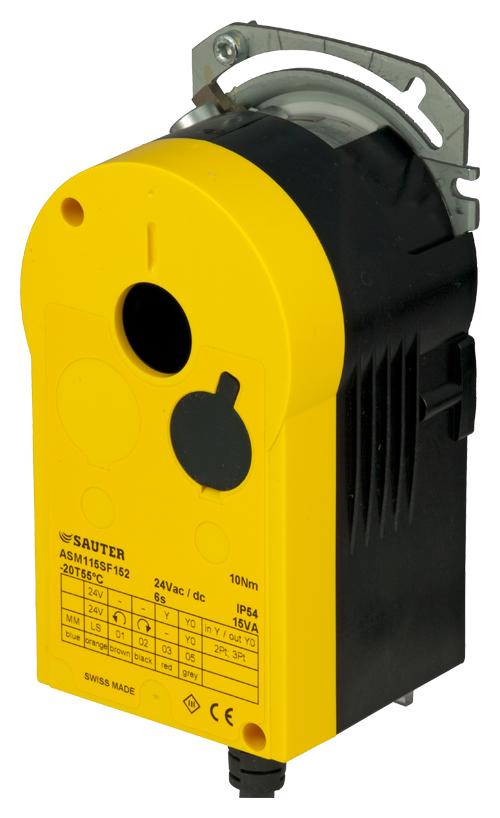 High-speed damper actuator with SAUTER Universal Technology (SUT)