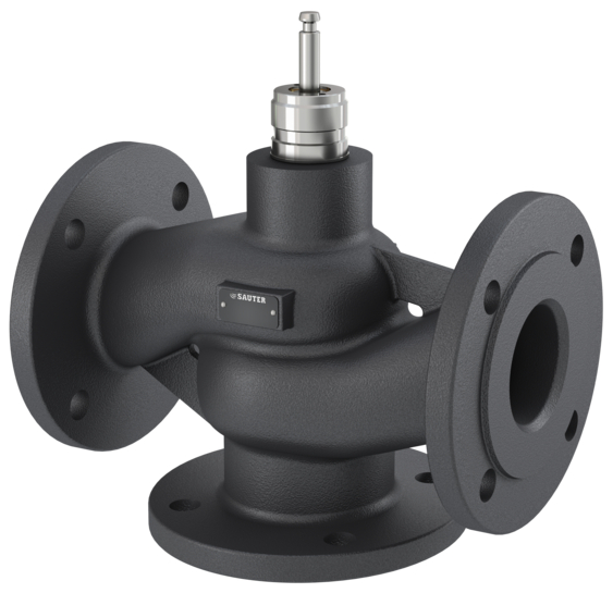 3-way flanged valve, PN 16