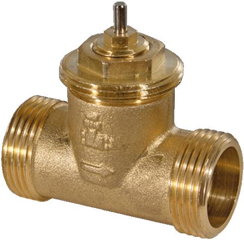 2-way valve, PN 16