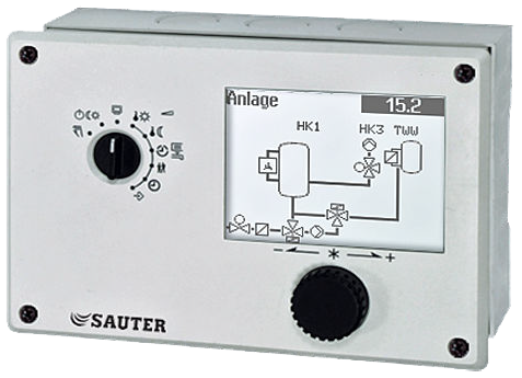 Heating and district heating controller, equitherm
