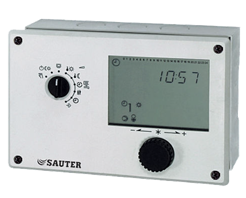 Heating controller with digital user interface, equitherm