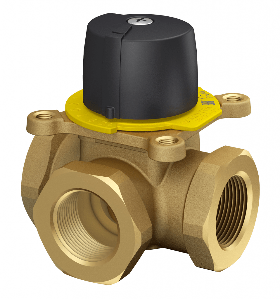 Control valve with threaded connection, PN 10