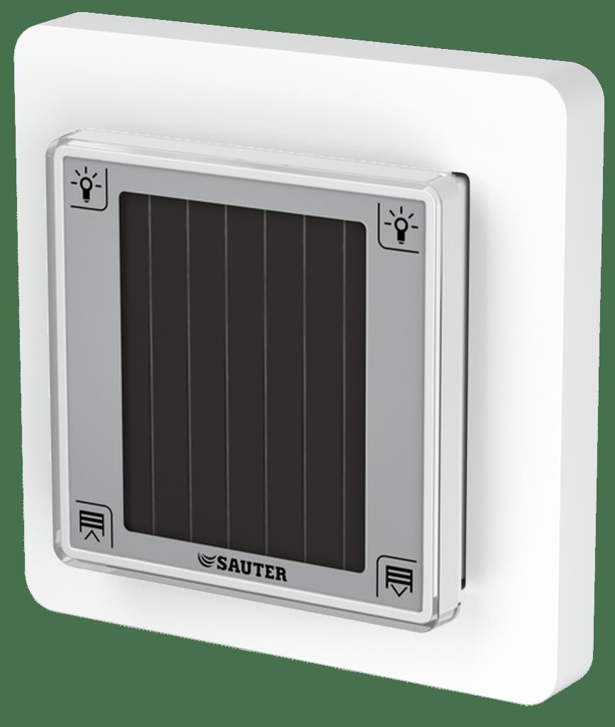 Push-button unit for EnOcean room operating unit, ecoUnit106
