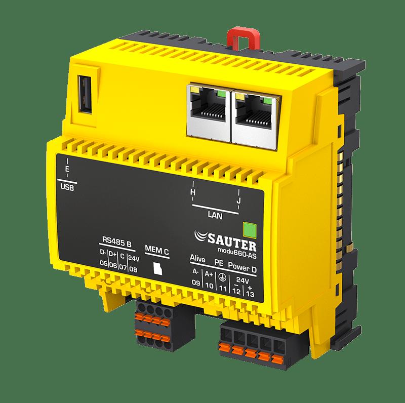 Modular BACnet automation station, modu660-AS