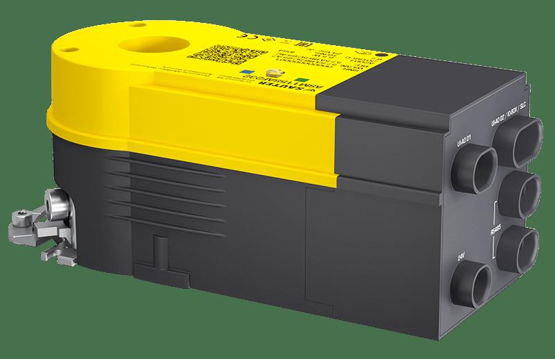 Smart actuator for ventilation dampers